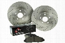 Centric C-TEK Drilled & Slotted Sport Brake Kit