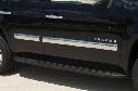 2015 Chevy Suburban Putco Chrome Side Molding 96702