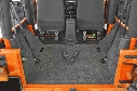 2016 Jeep Wrangler BedRug Jeep Cargo Liner Kit BRJK11R4 Cargo Kit - 5 Piece