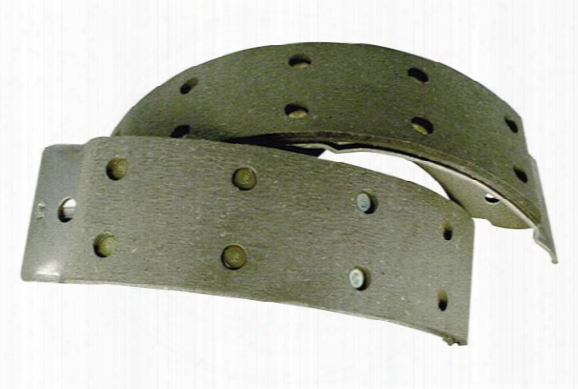 1980-1996 Chevy Caprice Centric Heavy Duty Brake Shoes