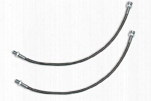 1986 Jeep Cj Tuff Country Stainless Steel Brake Lines 95405 Rear Line