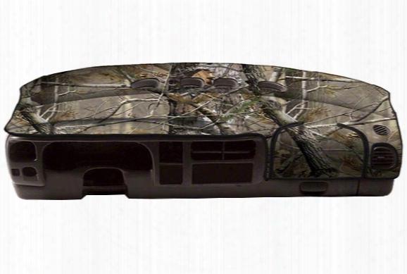 1999-2013 Subaru Forester Coverking Realtree Camo Velour Dashboard Cover