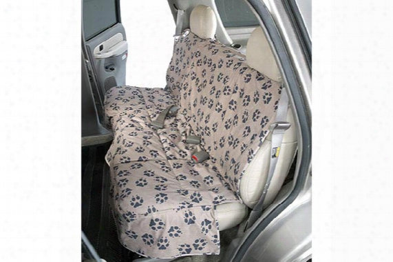 2010 Honda Cr-v Canine Covers Crypton Paw Print Custom Suede Seat Covers