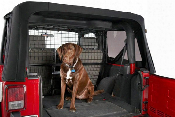 Bestop Pet Barrier - Dog Barriers For Back Seat Cargo Areas