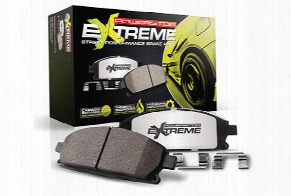Power Stop Z26 Extreme Brake Pads - High Performance Brake Pads