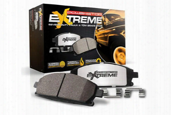 2011 Honda Element Power Stop Z36 Truck & Tow Brake Pads