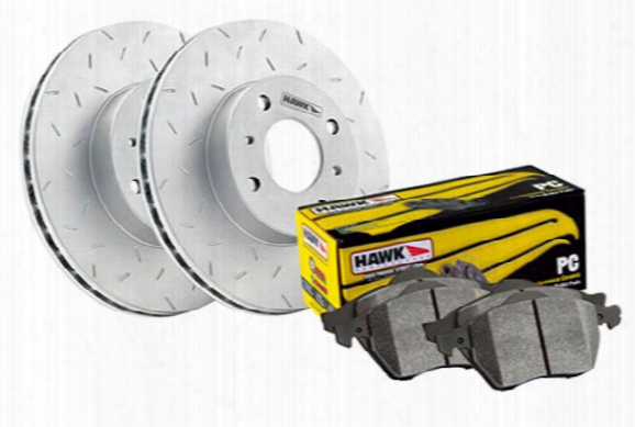 2012 Honda Cr-z Hawk Performance Ceramic Brake Kit