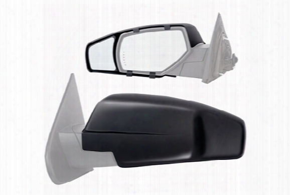 2010 Gmc Yukon K-source Snap & Zap Clip-on Towing Mirrors