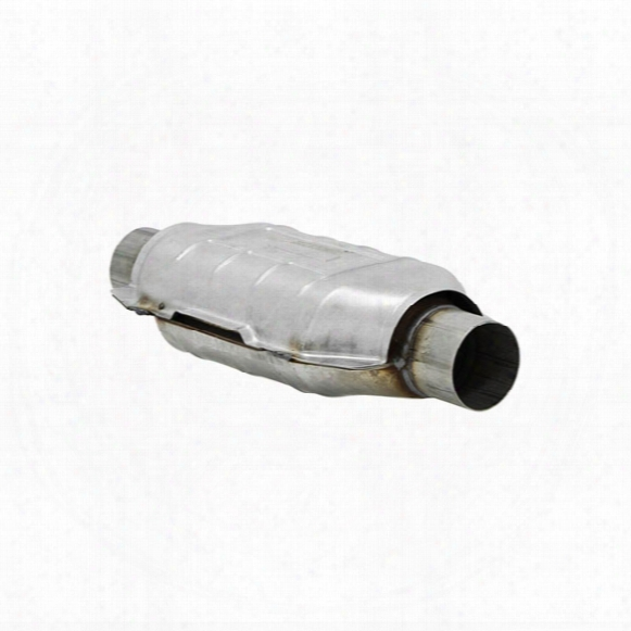 Flowmaster Universal Catalytic Converters - 49-state Legal 2840230 Oval Body