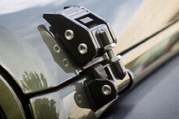 1995 Jeep Wrangler Rugged Ridge Hood Catch Kits 11116.1 T-handle Hood Catch Kit