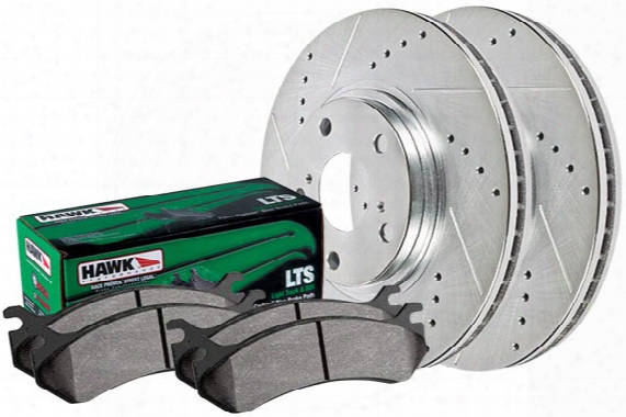 2003-2008 Honda Pilot Hawk Lts Sector 27 Brake Kit