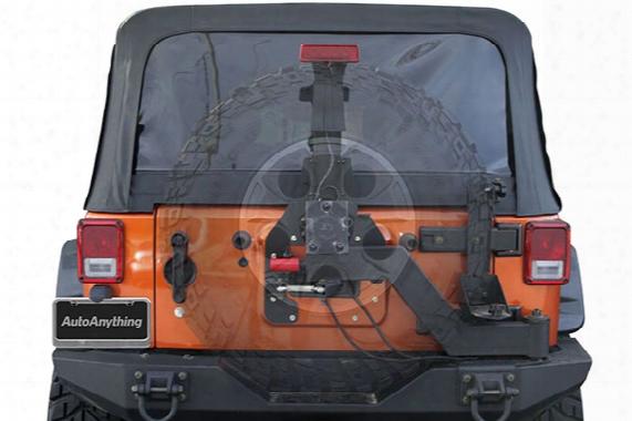 2016 Jeep Wrangler Rugged Ridge Xhd Gen Ii Swing And Lock Tire Carrier 11546.25 Xhd Gen Ii Swing And Lock Tire Carrier