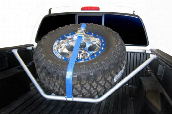 2005 Toyota Tacoma N-fab Sliding Channel Mounted Tire Carrier