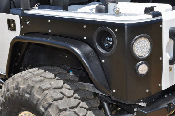 2010 Jeep Wrangler Poison Spyder Crusher Corners