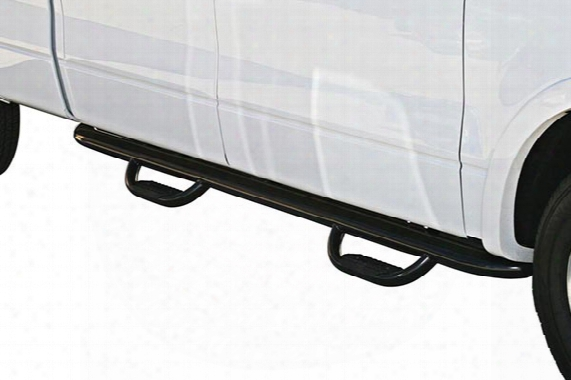 2009-2017 Dodge Ram Westin Genx Oval Tube Drop Step Bars