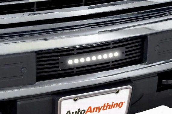 2016 Chevy Silverado Putco Luminix Led Shadow Billet Bumper Grille