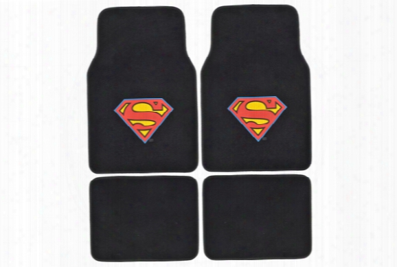 Bdk Superman Floor Mats Wbmt-1601 Superman Floor Mats