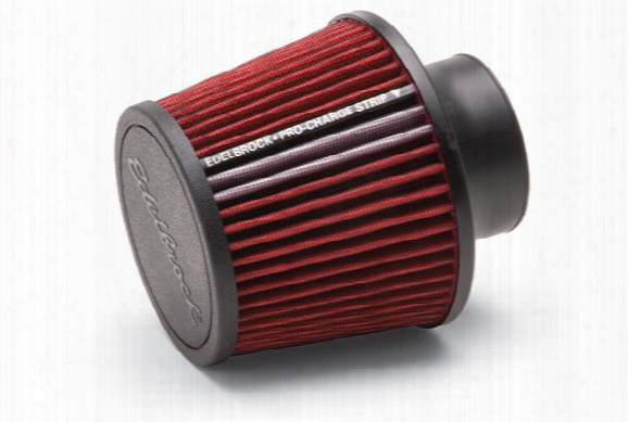Edelbrock Pro-flo Universal Conical Air Filter 43651 Conical Air Filter