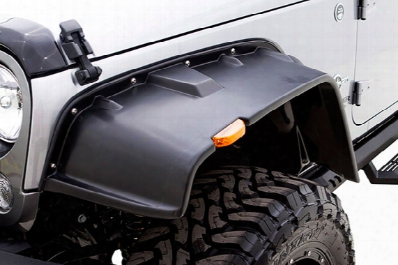 2007 Jeep Wrangler Rampage Flat Style Fender Flares