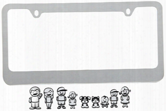 Proz Family License Plate Frame