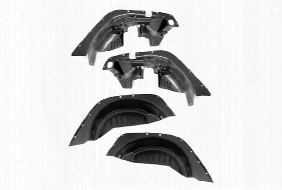 Rugged Ridge Fender Flare Wheel Well Liners - Jeep Wheel Well Liners For Fender Flares
