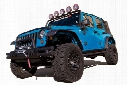 2016 Jeep Wrangler Rugged Ridge Flat Style Fender Flares 11620.1
