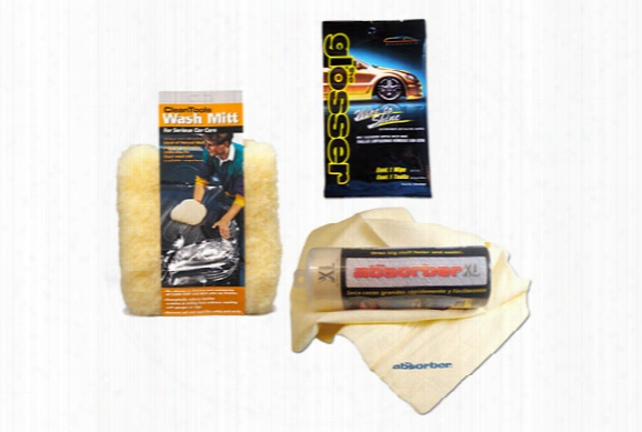Clean Tools Ultimate Car Wash Kit - Auto Detailing Supplies