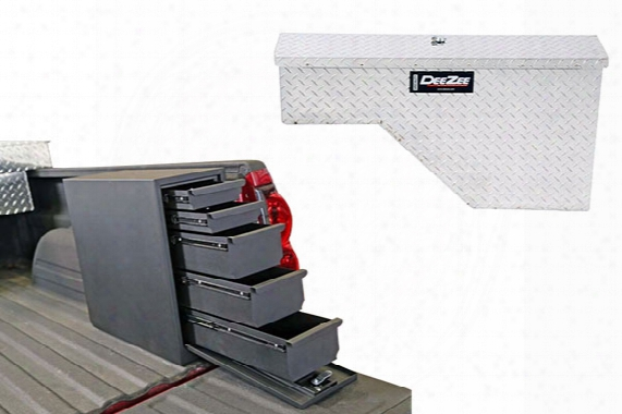 Dee Zee Specialty Series Wheel Well Truck Toolbox, Dee Zee - Truck Toolboxes - Side Mount Toolboxes