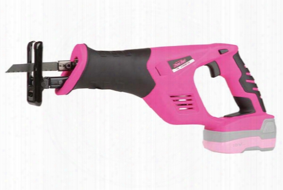 The Original Pink Box 18-volt Lithium-ion Cordless Reciprocating Saw
