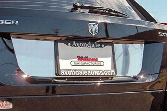 2007 Chrysler 300 Willmore License Plate Trim