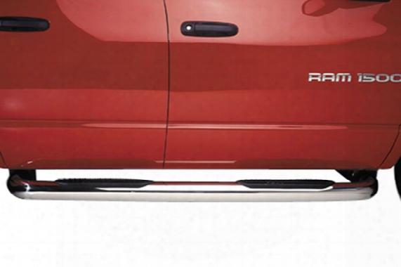 """2007 Gmc Sierra Putco Boss 4"""" Round Nerf Bars"""