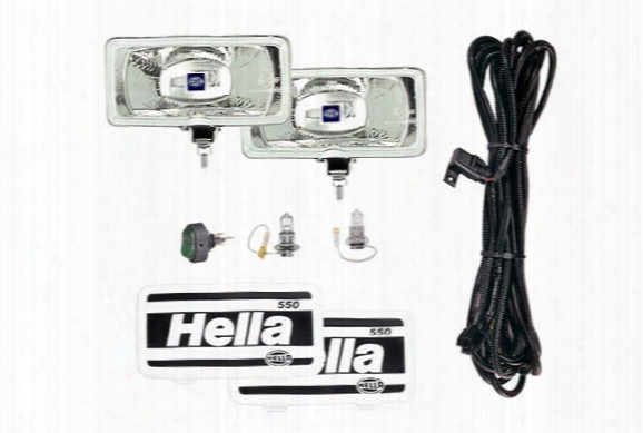 Hella 550 Lamp Kit - Driving Lights & Fog Lights