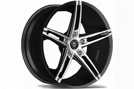 Lexani R-three Black Machined Wheels