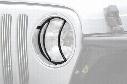 2006 Jeep Wrangler Smittybilt Euro Headlight Guards 5660 Euro Headlight Guards