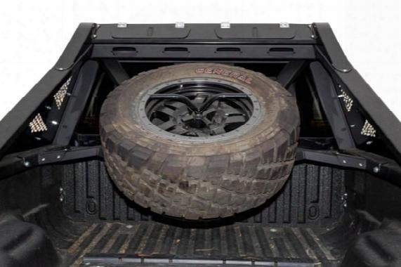 2000 Ford F-150 Addictive Desert Designs Honeybadger Chase Rack Tire Carrier