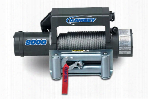 Ramsey Winch - Ramsey Patriot 8000, Ramsey - Winches - Winches - 8,000lb To 8,500lb