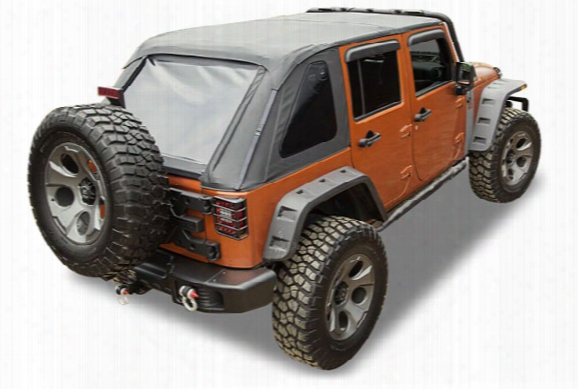 Rugged Ridge Bowless Soft Top