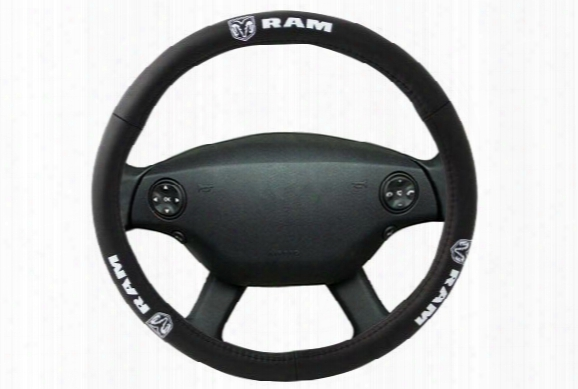 Bully Ram Leather Steering Wheel Cover