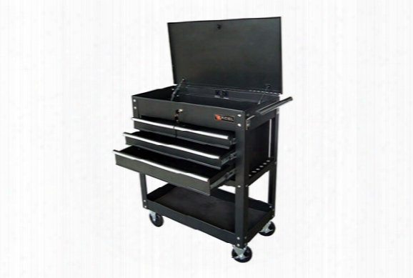 Excel 4-drawer Tool Cart - Excel Rolling Tool Carts