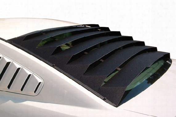 2013 Ford Mustang Mach-speed Aluminum Rear Window Louvers 12213 Rear Window Louvers