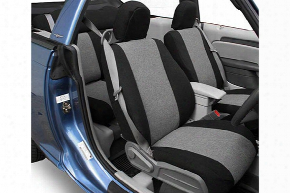 Caltrend Tweed Seat Covers - Cal Trend Tweed Car Seat Covers