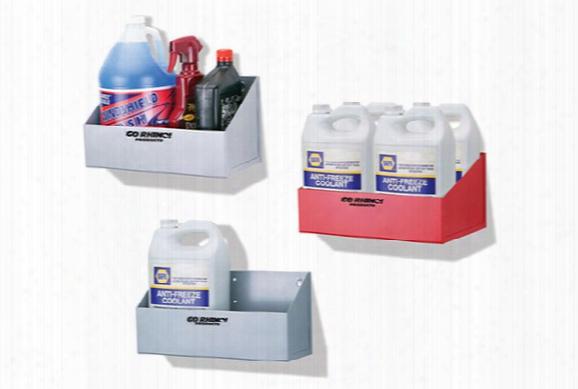 Go Rhino Gallon Storage Shelf, Go Rhino - Garage Accessories - Garage Storage Systems & Organizers