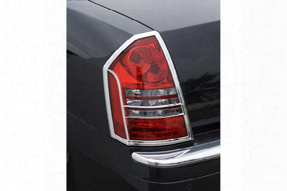 Putco Chrome Tail Light Covers, Putco - Chrome Accessories - Chrome Tail Light Covers