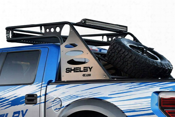 2004 Ford F-150 Addictive Desert Designs Over Cab Chase Rack