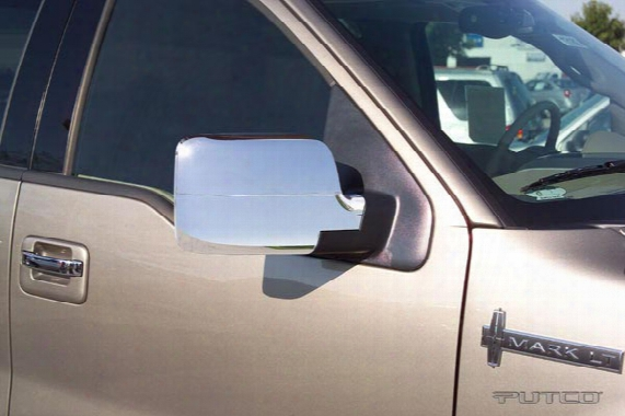 2007 Honda Cr-v Putco Chrome Mirror Covers