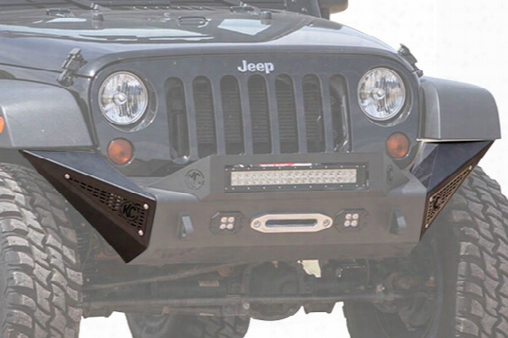 2007 Jeep Wrangler Addictive Desert Designs Stealth Fighter Front Bumper Side Po