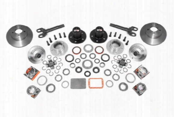 1995 Jeep Wrangler Alloy Usa Front Axle Manual Locking Hub Conversion Kits 12194