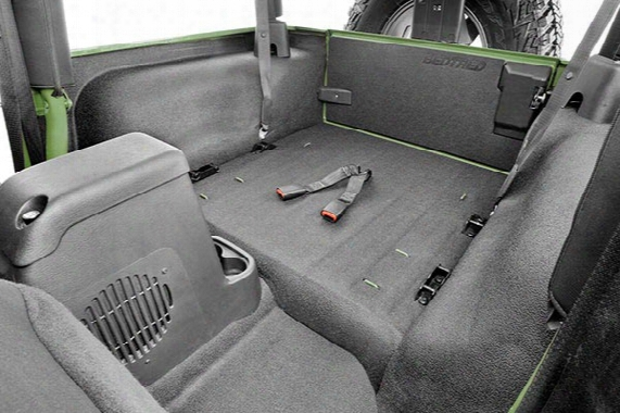 Bedtrde Jeep Cargo Liner Kit - Bed Tred Cargo Liner For Jeep Wranglers & Rubicons