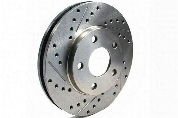 Centric C-tek Drilled & Slotted Brake Rotors