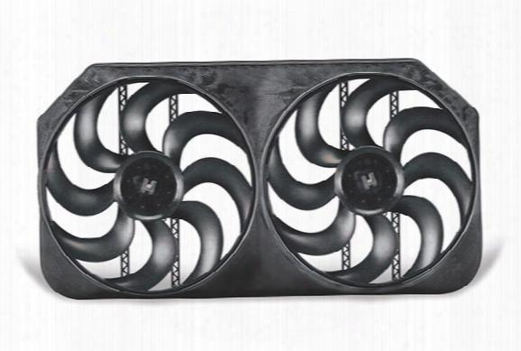 Flex-a-lite Monster Dual Universal Electric Cooling Fans